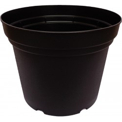 BC Virágcserép 23 cm fekete