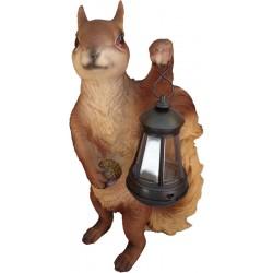 Lámpa szolár mókus 41 cm