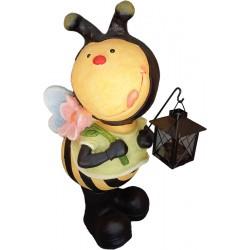 Méhecske mécsestartóval